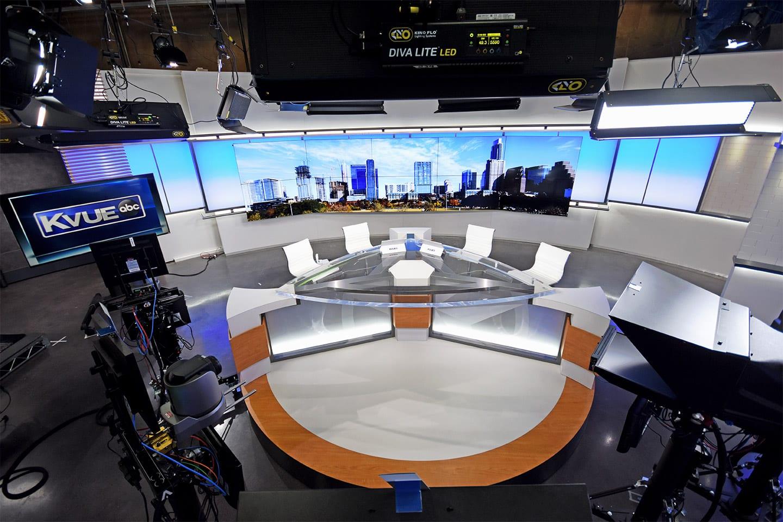 Example of Innovative Environment's Broadcast/TV Set Interior